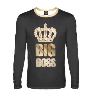 Мужской лонгслив Big Boss