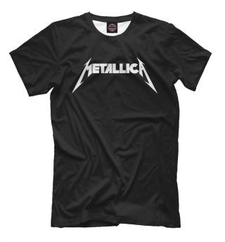Мужская футболка Metallica(на спине)