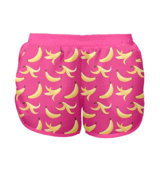 Женские шорты Бананы