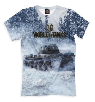 Мужская футболка World of Tanks