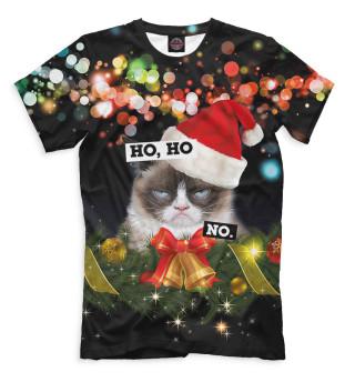 Мужская футболка Ho, Ho, No.