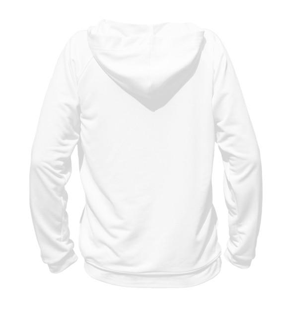 Мужское худи с изображением Shaolin цвета Белый