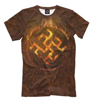 Мужская футболка Русь