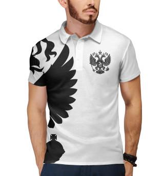 Мужское поло Герб России