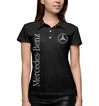 Женское поло Mercedes-Benz