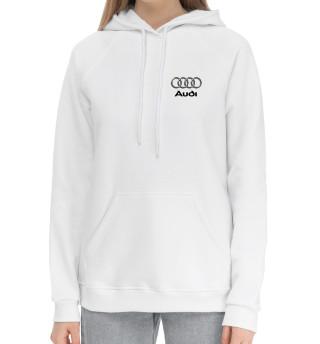 Женский хлопковый худи Audi