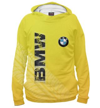 Мужское худи BMW следы шин | БМВ