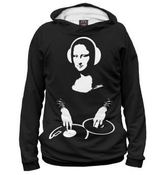 Мужское худи Mona Lisa DJ