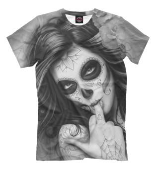 Мужская футболка Девушка в тату