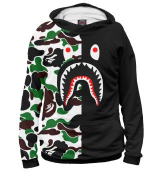 Мужское худи Bape Shark