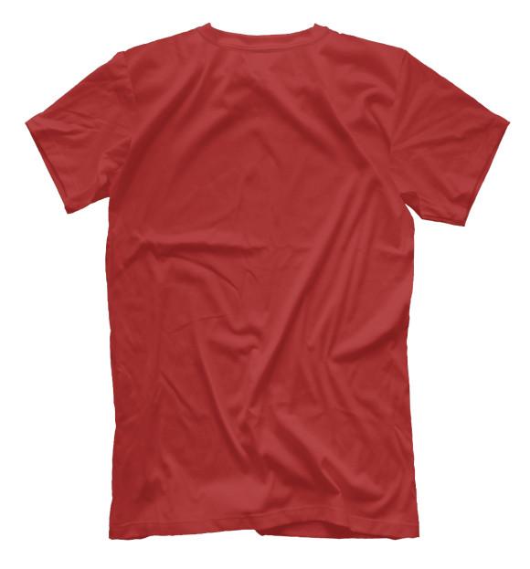 Мужская футболка с изображением Музыкальные инструменты цвета Белый