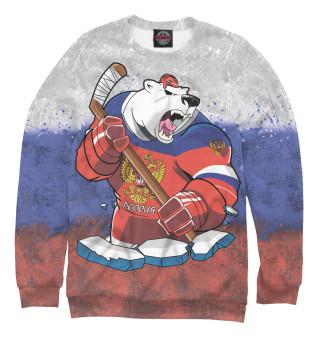 Мужской свитшот Медведь
