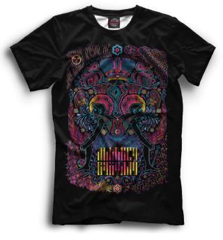 Мужская футболка Psychedelic