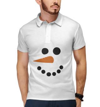 Снеговик минимализм