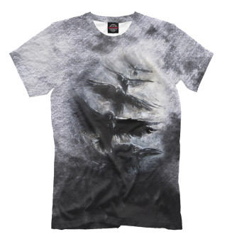 Мужская футболка Полет воронов