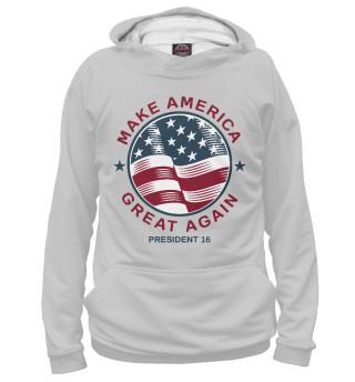 Мужское худи Make America Great Again