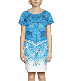 Платье летнее Абстракция