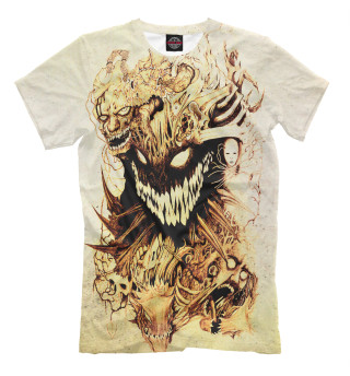Мужская футболка Улыбка тьмы