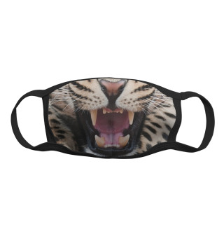 Маска тканевая Леопард