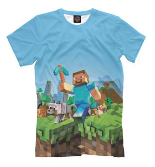 Футболка для мальчиков Minecraft