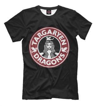 Мужская футболка Targaryen Dragons