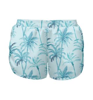 Женские шорты Пальмы