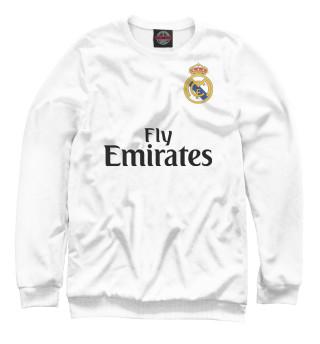 Свитшот для девочек Форма Реал Мадрид