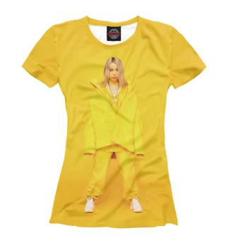 Женская футболка Билли Айлиш