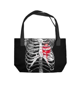 Пляжная сумка Костюм Скелета