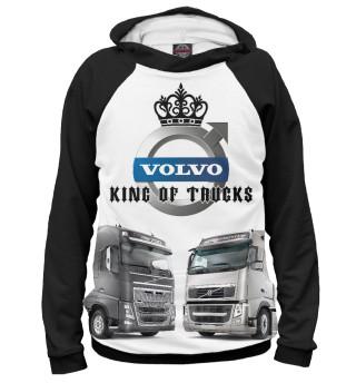 Мужское худи VOLVO - король грузовиков