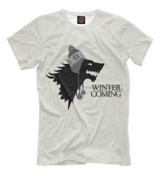 Мужская футболка Winter`s Coming