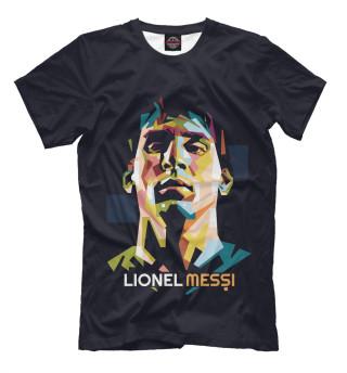 Мужская футболка Лионель Месси