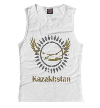 Женская майка Солнечный Казахстан