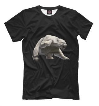 Мужская футболка Белый медведь