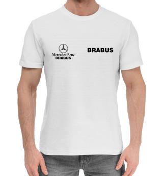Мужская хлопковая футболка Ф1 - Mercedes