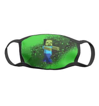 Маска тканевая Minecraft Online