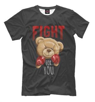 Мужская футболка Медведь 1