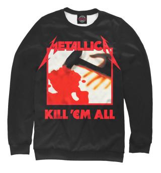 Мужской свитшот Metallica Kill 'Em All