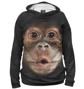 Мужское худи Орангутанг