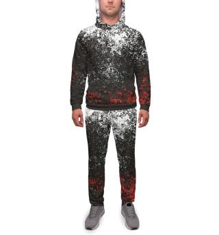 Мужской спортивный костюм Брызги красок