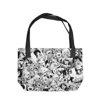 Пляжная сумка Ahegao