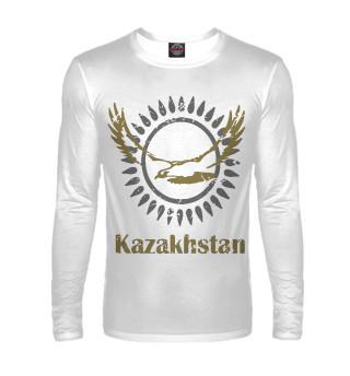 Мужской лонгслив Солнечный Казахстан