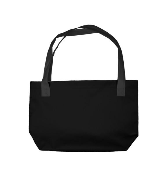Пляжная сумка с изображением Хьюстон... У нас проблемы цвета