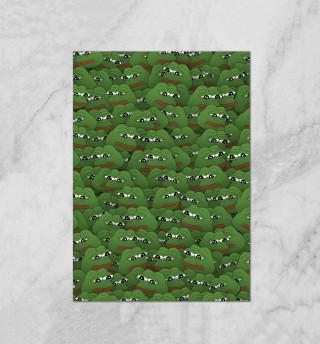 Грустные лягушки