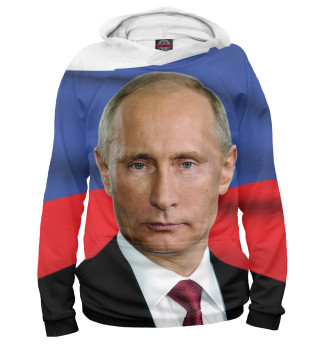 Женское худи Путин Владимир