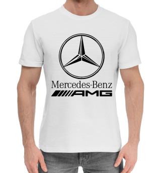 Мужская хлопковая футболка Mersedes-Benz AMG