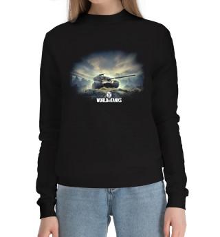 Женский хлопковый свитшот World of Tanks