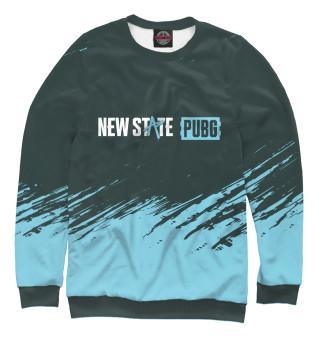 Мужской свитшот PUBG New State - Brush