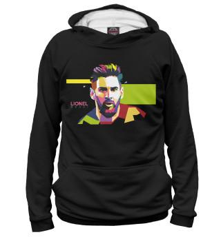 Мужское худи Messi