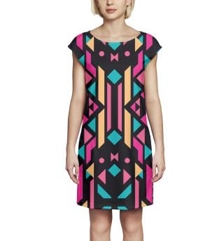 Платье без рукавов Геометрия